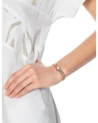 Lucy Folk | Multicolor Rose Gold Citrus Friendship Bracelet | Lyst