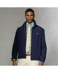 Polo Ralph Lauren | Blue Landon Windbreaker for Men | Lyst