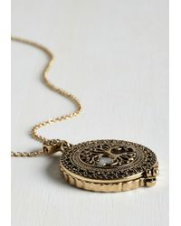 Ana Accessories Inc - Metallic Intrigue Achieved Necklace In Tree - Lyst