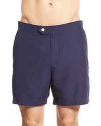 Ted Baker - Blue 'sharfo' Swim Trunks for Men - Lyst