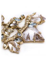 Alexis Bittar - White Chandelier Wire Cluster Earrings - Lyst