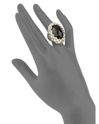 Stephen Webster - Black Onyx Sterling Silver Ring - Lyst