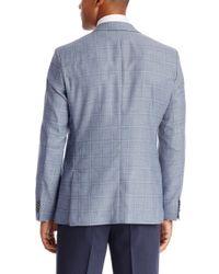 BOSS - Blue 'jarett' | Regular Fit, Italian Virgin Wool Blend Sport Coat for Men - Lyst