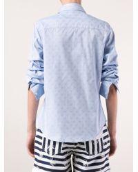 Lucien Pellat Finet - Blue Classic Shirt - Lyst