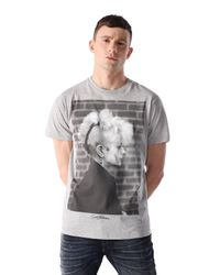 DIESEL - Black T-sagrar for Men - Lyst