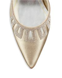 Caparros | Metallic Valuable Pointed Toe Heels | Lyst