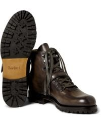 Berluti - Brown Brunico Venezia Leather Boots for Men - Lyst