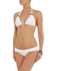 ViX - White California Low-rise Bikini Briefs - Lyst