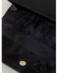 Saint Laurent - Black 'classic Monogram' Clutch - Lyst