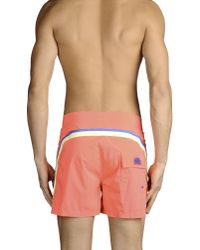 Sundek - Pink Swim Trunks for Men - Lyst