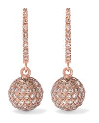 Ileana Makri | Pink Broken Link 18-karat Gold Diamond Earrings | Lyst