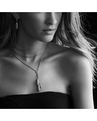 David Yurman - Metallic Lantana Drop Earrings With Diamonds In Gold - Lyst