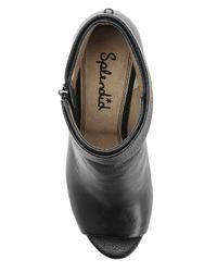 Splendid | Black Jojo Peep Toe Heel | Lyst