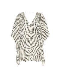 ViX | Black Zebra Maud Kaftan | Lyst