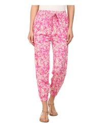 Amuse Society - Pink Traveler Pants - Lyst