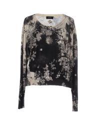 DIESEL - Gray Sweater - Lyst