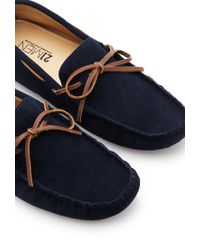 Forever 21 - Brown Genuine Suede Driving Loafers for Men - Lyst