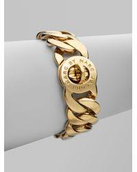 Marc By Marc Jacobs | Metallic Katie Turnlock Bracelet/goldtone | Lyst