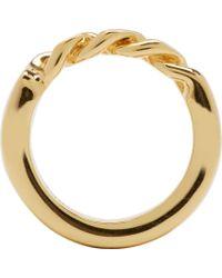 Chloé | Metallic Gold Carly Ring | Lyst
