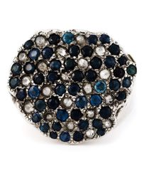 Rosa Maria | Blue 'Mara' Ring | Lyst