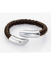 Storm - Brown Flexo Bracelet for Men - Lyst