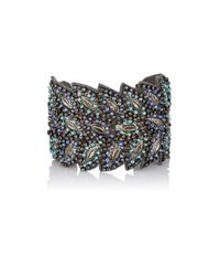 Chamak by Priya Kakkar | Black Women's Danette Feather Cuff | Lyst
