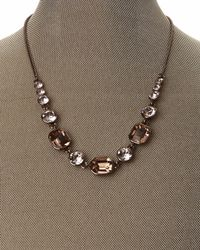 Givenchy - Metallic Rose Gold-Tone Linked Necklace - Lyst