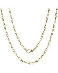 Annoushka - Metallic Classic Infinity Handmade 18ct Yellow-gold Chain Necklace - Lyst