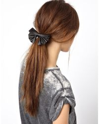 ASOS | Black Hair Bow | Lyst