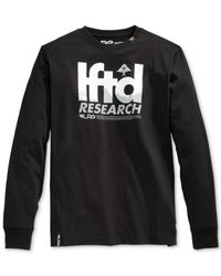 LRG | Black Big And Tall Expedition T-shirt for Men | Lyst