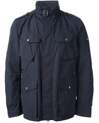 Woolrich - Blue Sports Jacket for Men - Lyst