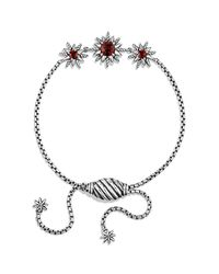 David Yurman | Metallic Starburst Three-station Bracelet | Lyst