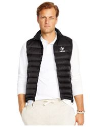 Polo Ralph Lauren | Black Big And Tall Rlx Explorer Down Vest for Men | Lyst