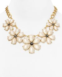 kate spade new york - Natural Lady Antoinette Graduated Necklace 18 - Lyst