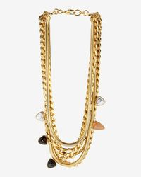Lizzie Fortunato | Metallic Exclusive Renegade Necklace | Lyst