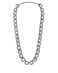 Larkspur & Hawk - Short Light Pink Quartz Bella Graduated Riviere Necklace - Lyst