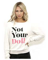 Wildfox - White Not Your Doll Bbj In Vintage Lace - Lyst