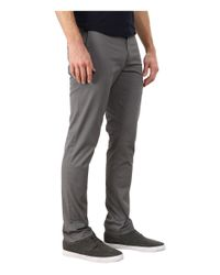 Original Penguin - Gray P55 Slim Fit Stretch Chino for Men - Lyst