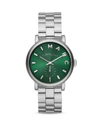 Marc By Marc Jacobs - Green Baker Watch, 36mm - Lyst