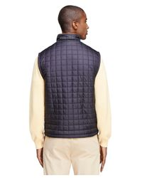 Brooks Brothers | Blue Reversible Vest for Men | Lyst