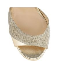 Jimmy Choo | Metallic Tyne 120 | Lyst