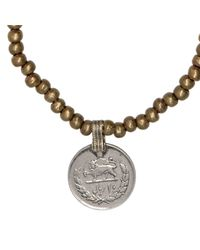 Ali Grace Jewelry | Metallic Antique Small Brass Coin Necklace | Lyst