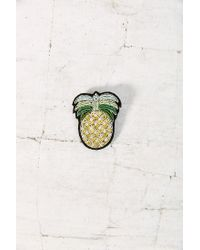 Macon & Lesquoy - Yellow Large Pin - Lyst