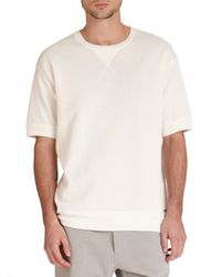 DIESEL - White Cotton Tee for Men - Lyst