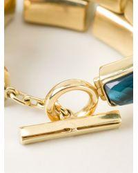 Vaubel | Blue Faceted Stone Bracelet | Lyst