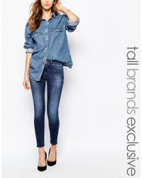 Noisy May Tall - Blue Extreme Lucy Super Slim Jean - Lyst