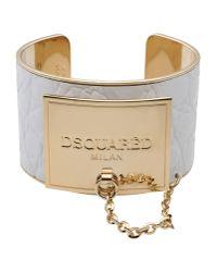 DSquared² | White Bracelet | Lyst