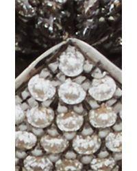 Noor Fares | Metallic Gold And Diamond Geometry 101 Merkaba Ring | Lyst