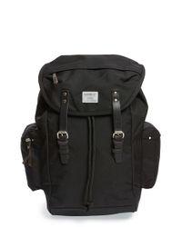 Sandqvist | Black 'lars-goran' Backpack for Men | Lyst