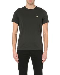 Paul Smith - Black Regular-fit Cotton-jersey T-shirt for Men - Lyst